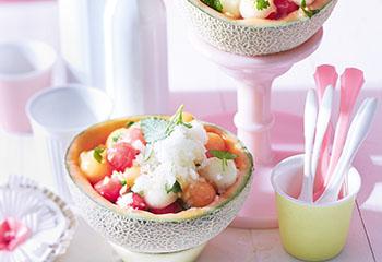 Melonensalat mit Granata Foto: © Janne Peters