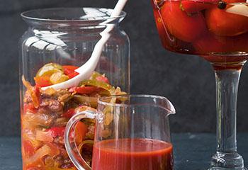 Pikantes Tomaten-Paprika-Chutney Foto: © Wolfgang Schardt