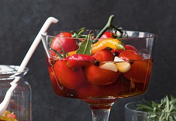 Eingelegte Tomaten Foto: © Wolfgang Schardt