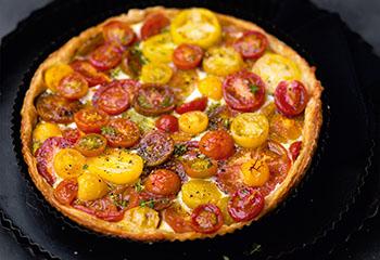 Tomaten-Ricotta-Tarte Foto: © Wolfgang Schardt