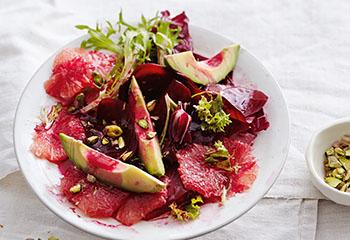 Rote-Rüben-Grapefruit-Salat Foto: © Thorsten Südfels