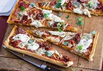 Käse-Fenchel-Pizza Foto: © Wolfgang Schardt