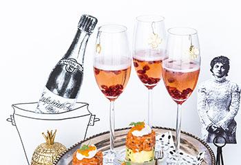 Champagner mit Granatapfel Foto: © Wolfgang Schardt