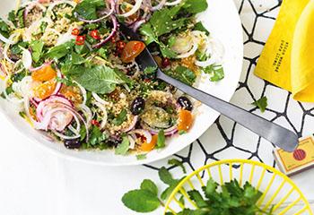 Zwiebel-Couscous-Salat Foto: © Wolfgang Schardt