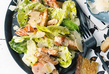 Caesar Salad mit Putenstreifen Foto: © Wolfgang Schardt