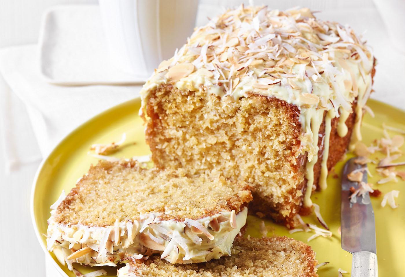 Buttermilchkuchen Mit Kokos Und Mandeln Frisch Gekocht