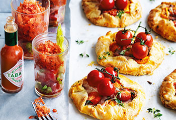 Tomaten-Speck-Pies Foto: © William Meppem