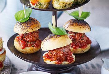 Mini-Burger Foto: © Janne Peters
