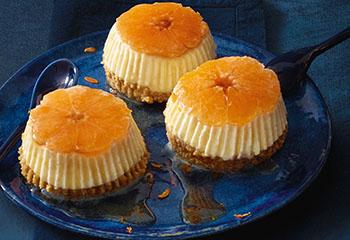 Clementinen-Cheesecake Foto: © Walter Cimbal