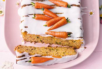 Veganer Karottenkuchen Foto: © Wolfgang Schardt