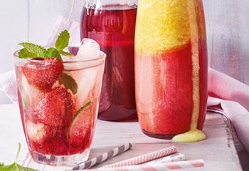 Erdbeer-Sirup Foto: © Walter Cimbal