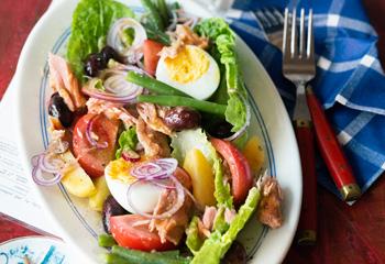 Salade niçoise Foto: © Wolfgang Schardt