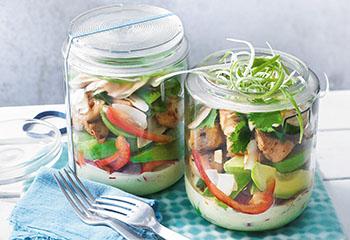 Hühner-Avocado-Salat Foto: © Nikolai Buroh