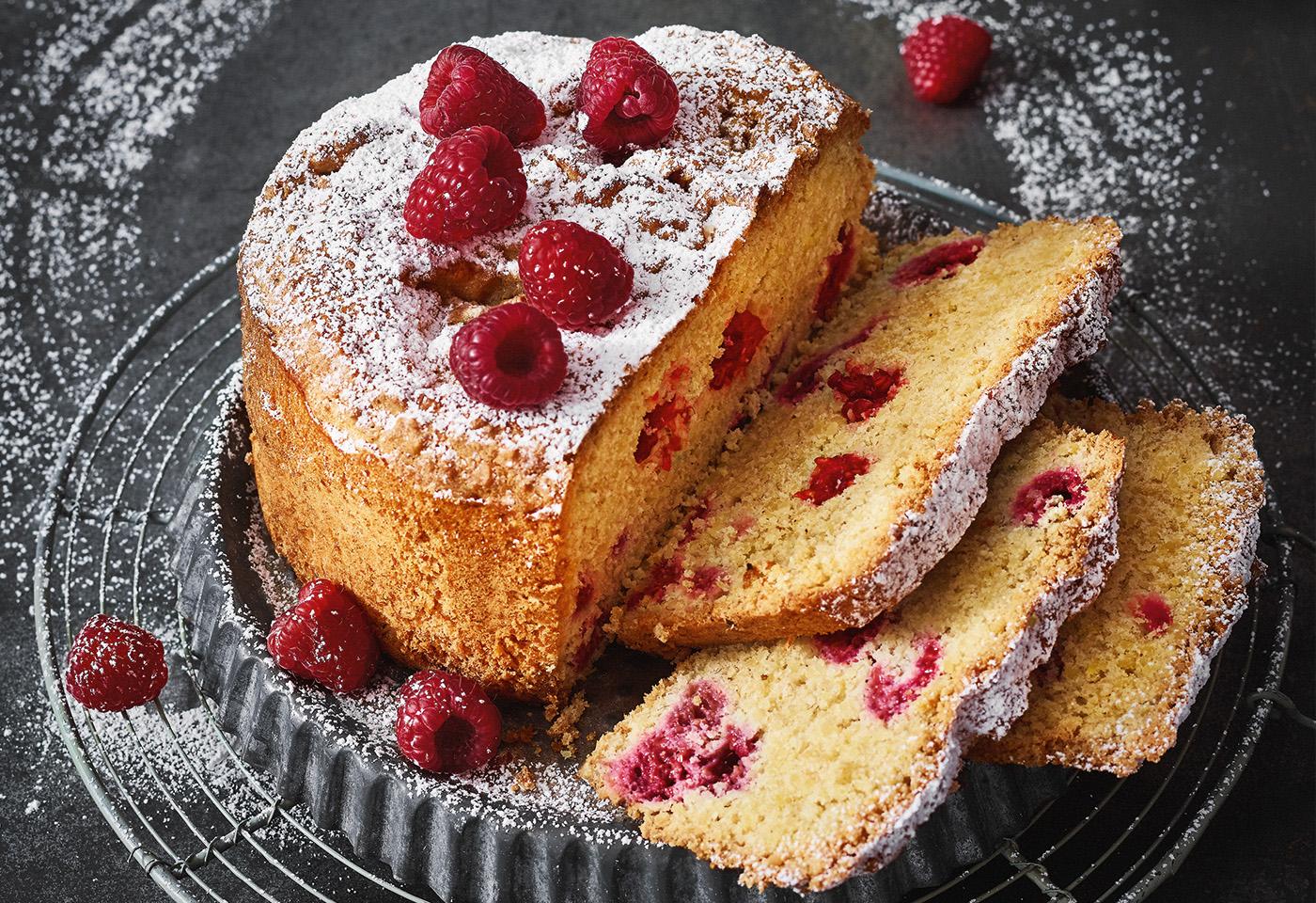 Himbeer zitronen kuchen