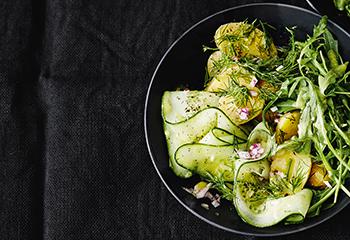 Erdäpfel-Gurken-Salat Foto: © Thorsten Suedfels