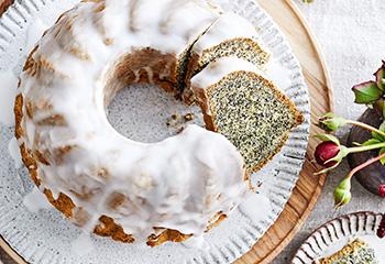 Mohngugelhupf mit Zuckerglasur Foto: © Thorsten Suedfels