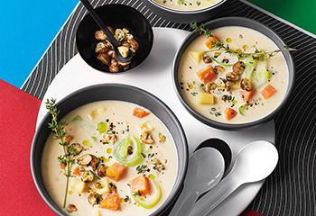 Lauch-Karotten-Suppe Foto: © Monika Schuerle
