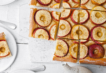Apfelblechkuchen Foto: © Wolfgang Schardt