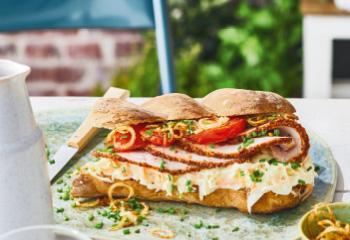 Putensandwich Pastrami-Style Foto: © Janne Peters