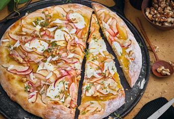 Süße Obstpizza Foto: © Janne Peters