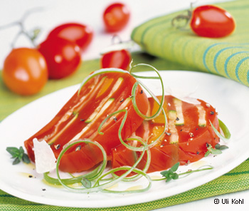 Pikante Gemüseterrine