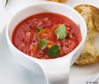 Tomaten-Oregano-Suppe