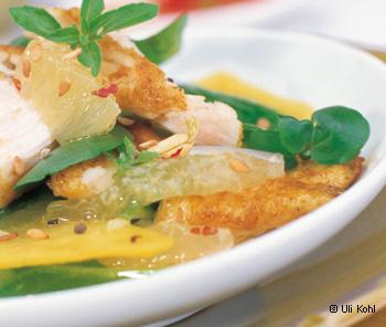 Asia-Salat mit Huhn
