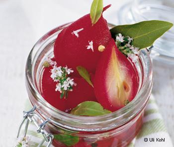 Rotwein-Pfefferbirne
