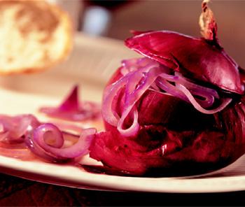Rote Zwiebel-Salat