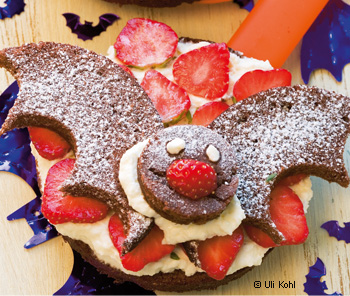 Fledermaus-Obstkuchen