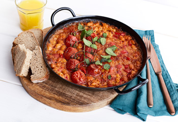 Baked Beans Balkan Style Foto: © Kevin Ilse