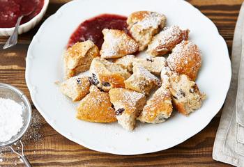 Glutenfreier Kaiserschmarrn