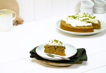 Karottenkuchen mit Mascarpone-Creme