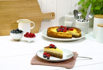 Zuckerreduzierter Cheesecake
