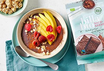 Kakao-Kuchenbowl Foto: © Kevin Ilse
