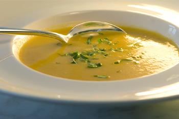 Karotten-Koriander-Suppe