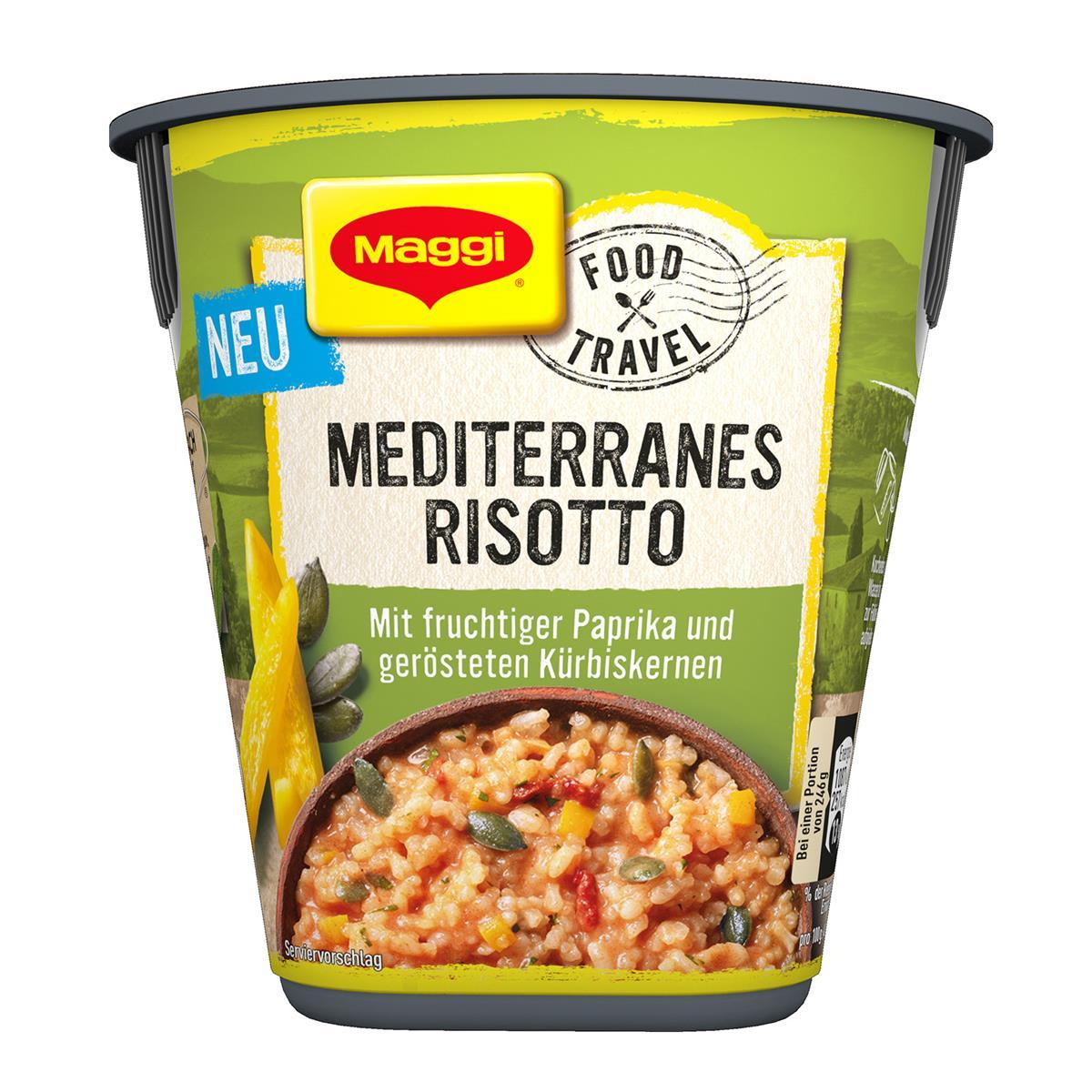 Hauptnahrungsmittel der mediterranen Diätkarte