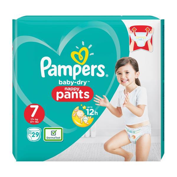 5ef44fcb3ed93a Pampers Baby Dry Pants Gr. 7 online bestellen