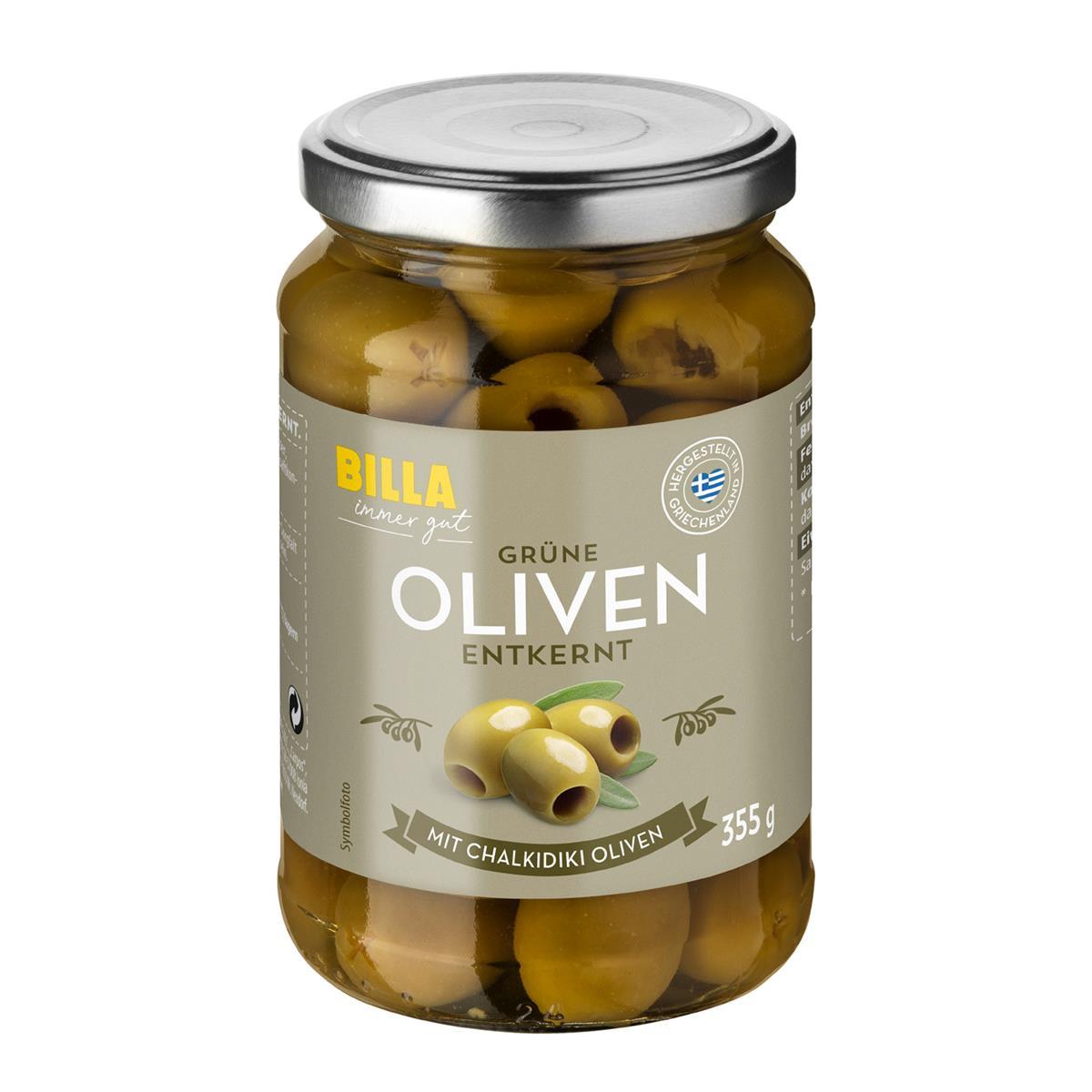 oliven eingelegt nährwerte