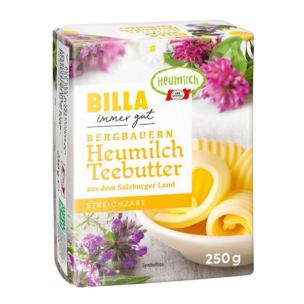 Billa Bergbauern Heumilch Teebutter Online Bestellen Billa