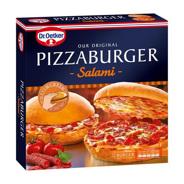 Dr Oetker Pizzaburger Salami Online Bestellen Billa