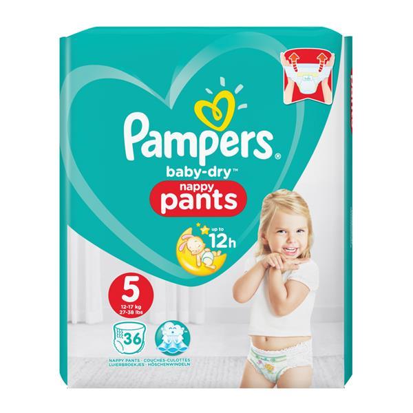 50207890172cf5 Pampers Baby Dry Pants Gr. 5 Junior online bestellen