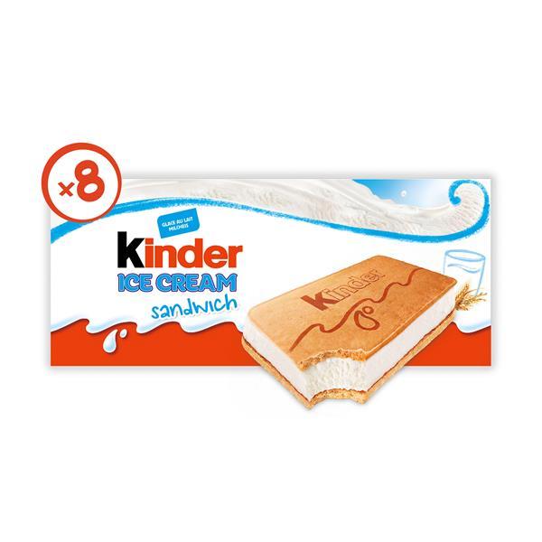 Kinder Ice Cream Sandwich 8er Online Bestellen Billa