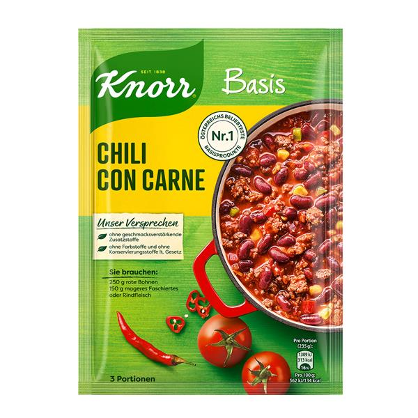 Knorr Basis Fur Chili Con Carne Online Bestellen Billa